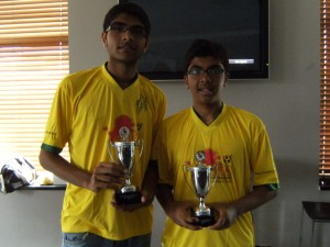 Skills Winner (Nimesh) & 2nd Place (Yash)