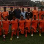 PIFA Colaba Mens team play the RCF Premier Cup