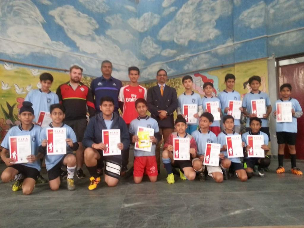 PIFA International Camp in Jammu
