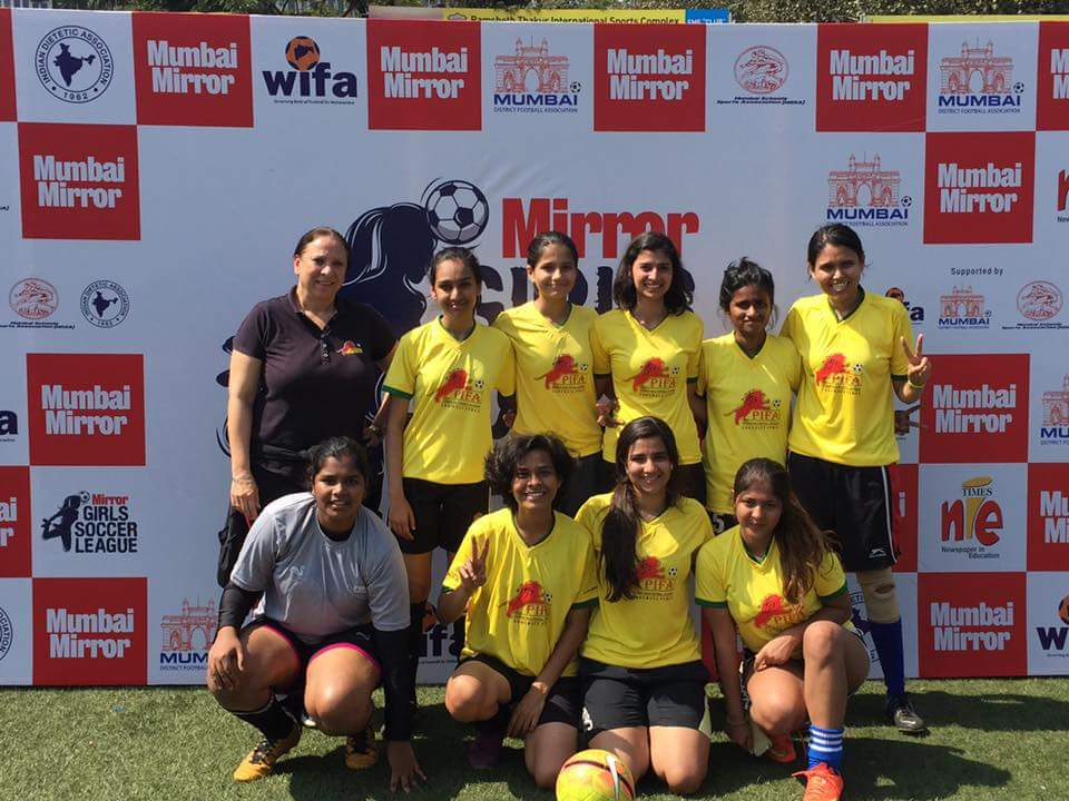 PIFA girls in semi finals of Mumbai Mirror Girls Soccer League