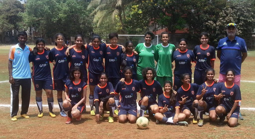 PIFA girls storm into the semi finals beating Adhaar Pratishtan Cathedral