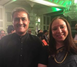PIFA Director Anjali with AIFF President Mr Praful Patel