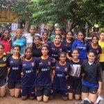 PIFA girls at BWFA Women's league