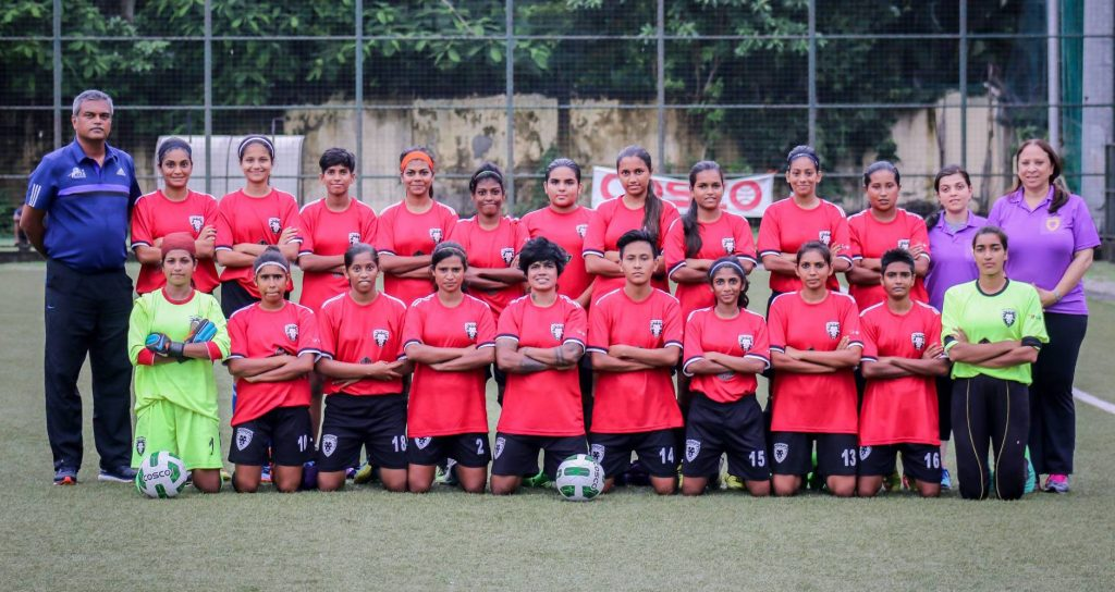 PIFA girls play Indian Women's League qualifiers