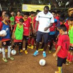 With Emile Heskey