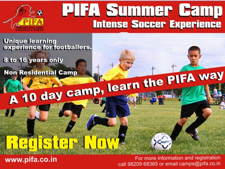 PIFA Summer Camp in Mumbai