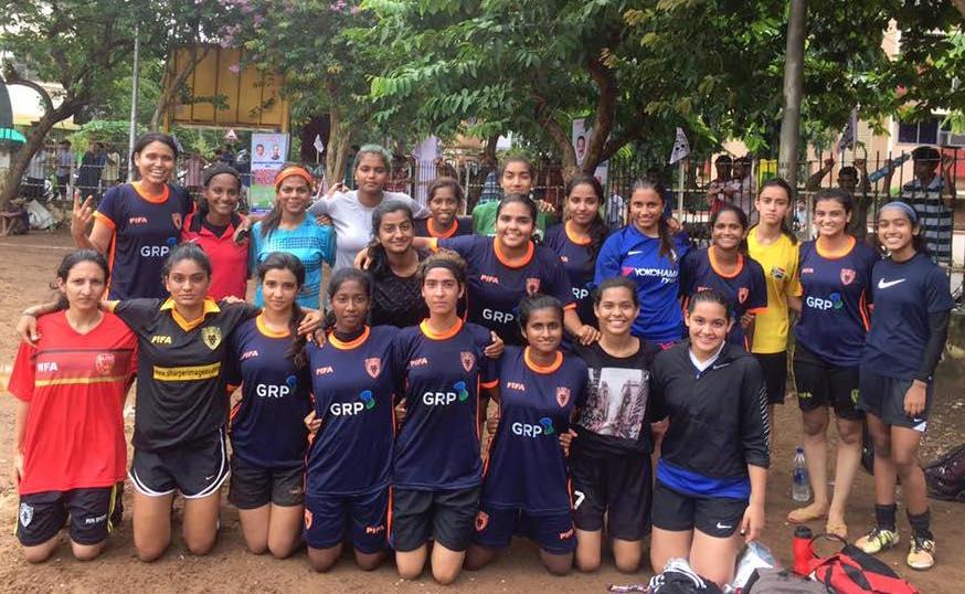 PIFA girls in BWFA Women's league quarter finals