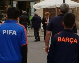 PIFA Champions Tour to Barcelona 2018 – Goodbye Iniesta, Infinite
